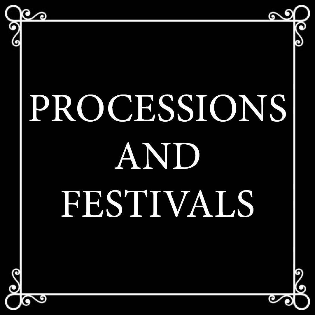 Processions et fêtes